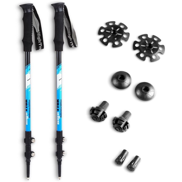 Premium Ultralight Trekking Poles By High Trek