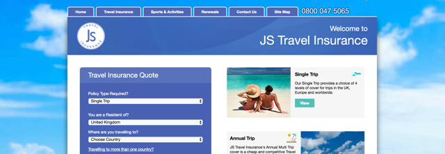 Js insurance Uk for mountains