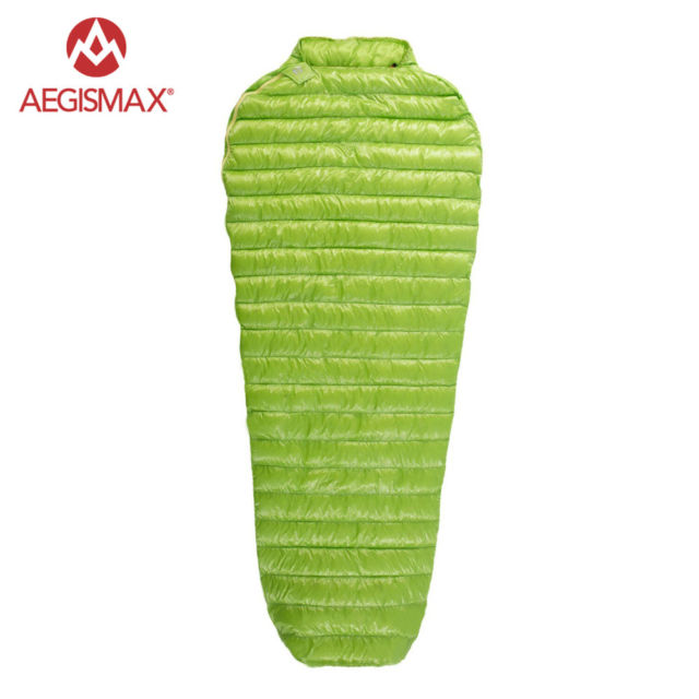 AEGISMAX Outdoor Ultra-Light Goose Down Sleeping Bag Three-Season Down Sleeping Bag Mummy Down Sleeping Bag