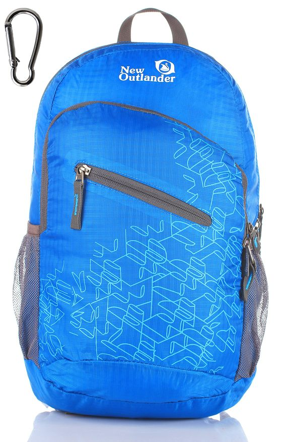 OUTLANDER PACKABLE LIGHT WEIGHT TRAVEL HIKING BACKPACK
