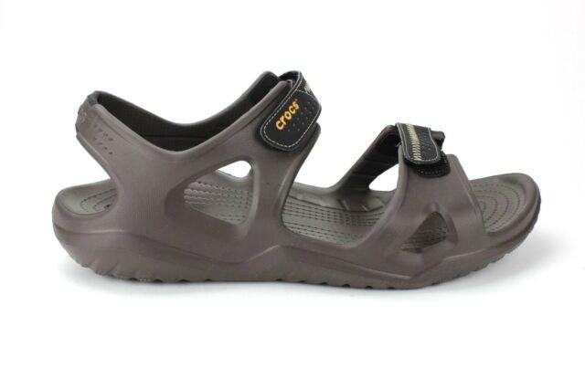 Crocs Men's Swiftwater River Sandal flat feet men